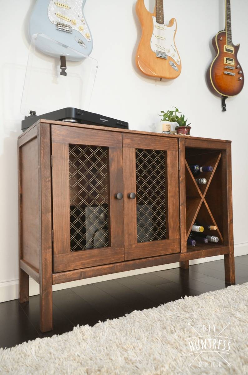Ana White | Rustic Cabinetdiy Huntress – Diy Projects With Diy Sideboards (View 6 of 15)
