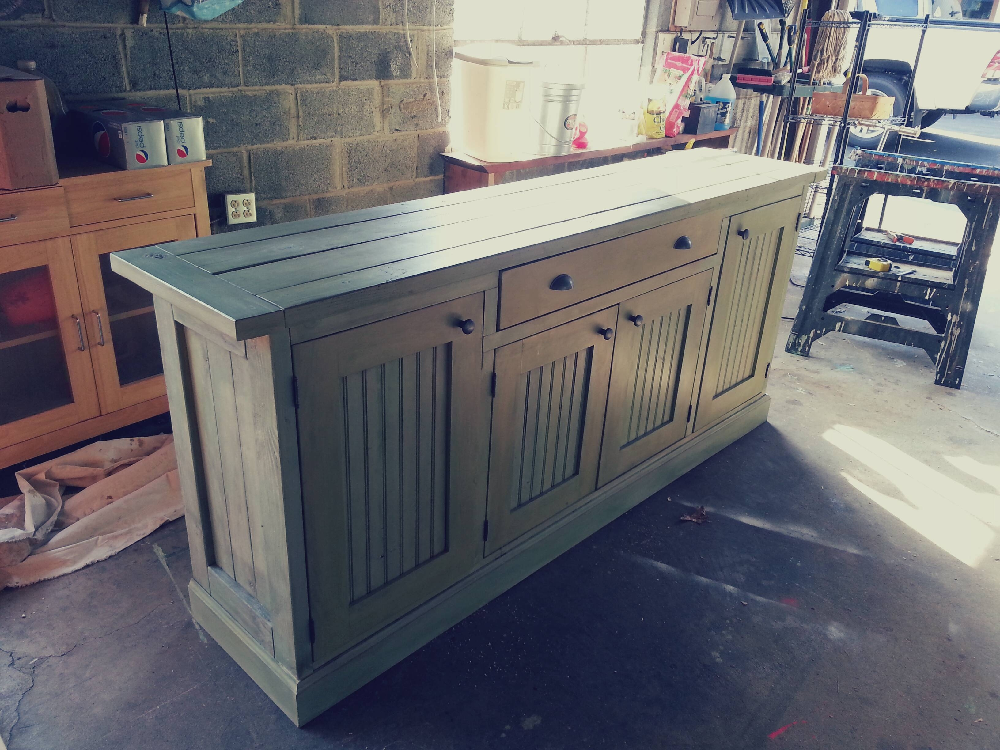 Ana White | Rustic Sideboard - Diy Projects inside Rustic Sideboard Furniture (Image 1 of 15)