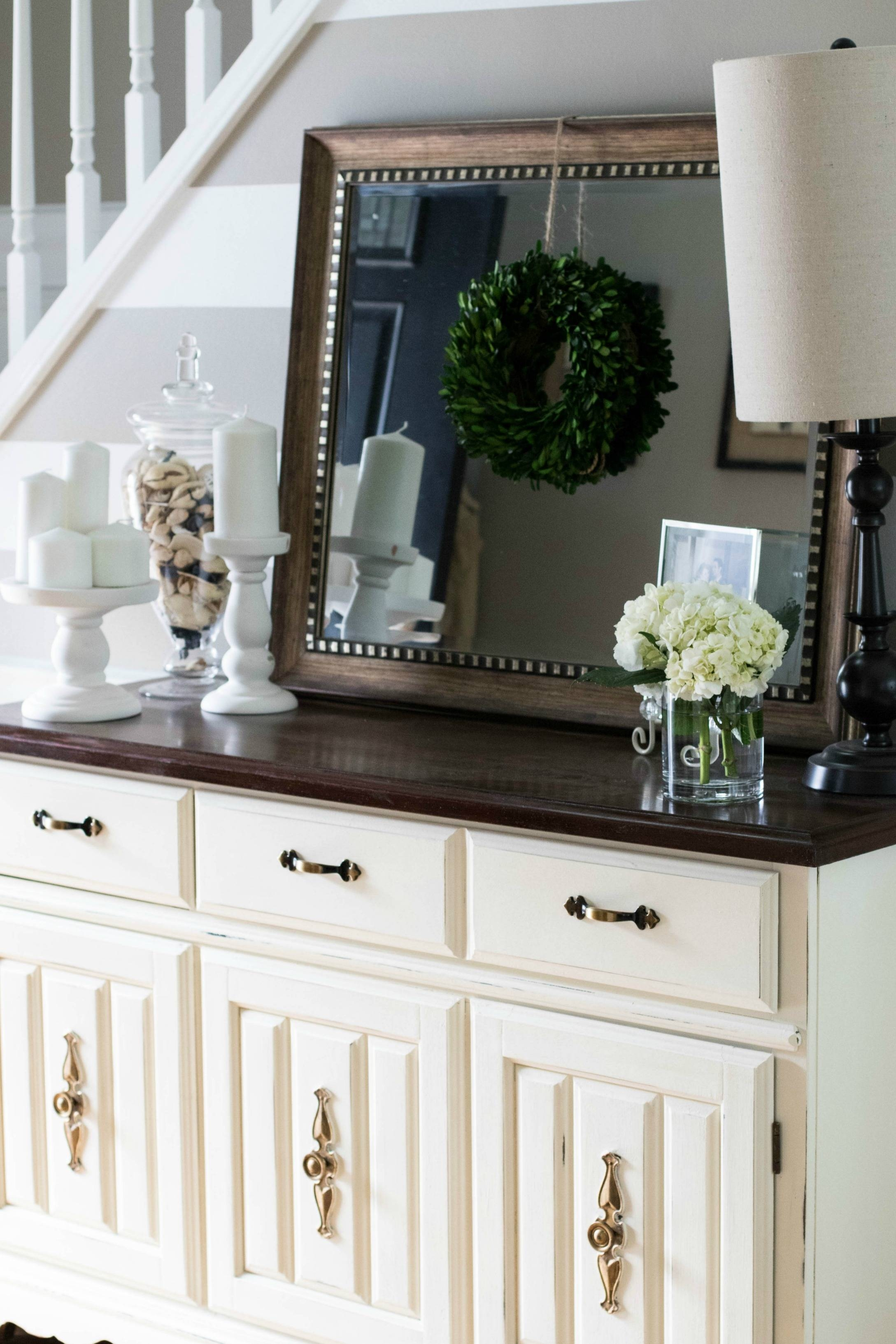 Annie Sloan Chalk Paint: Buffet Makeover | Coffee Beans And Bobby Pins with Chalk Painted Sideboards (Image 3 of 15)