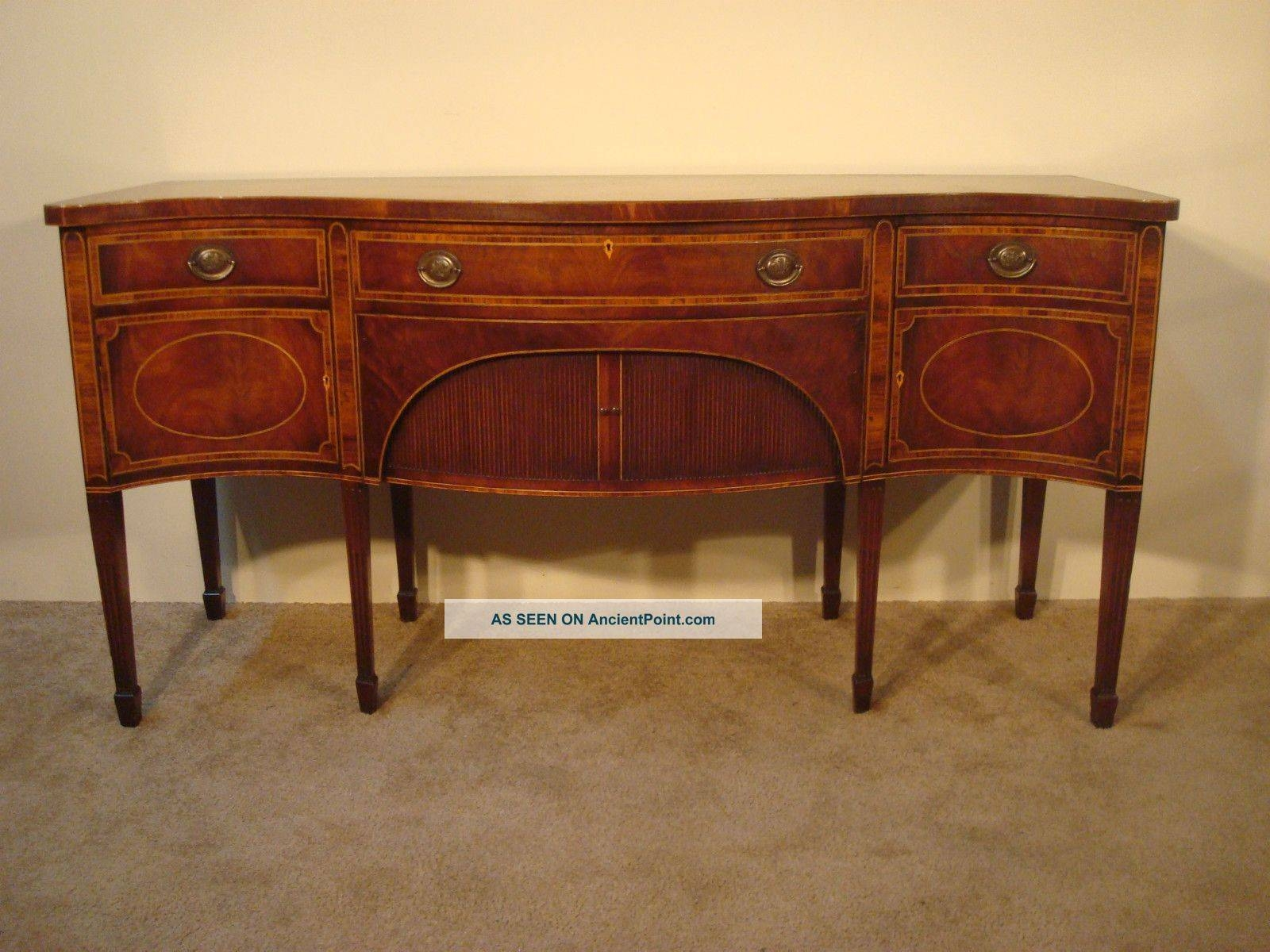 Antique Mahogany Furniture Throughout Hepplewhite Sideboards (View 3 of 15)