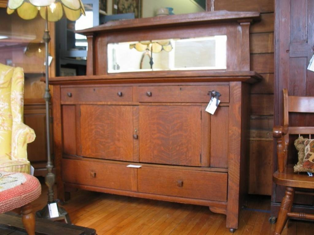 Antique Oak Sideboard Buffet Vancouver Wa — New Decoration in Antique Sideboards With Mirror (Image 1 of 15)