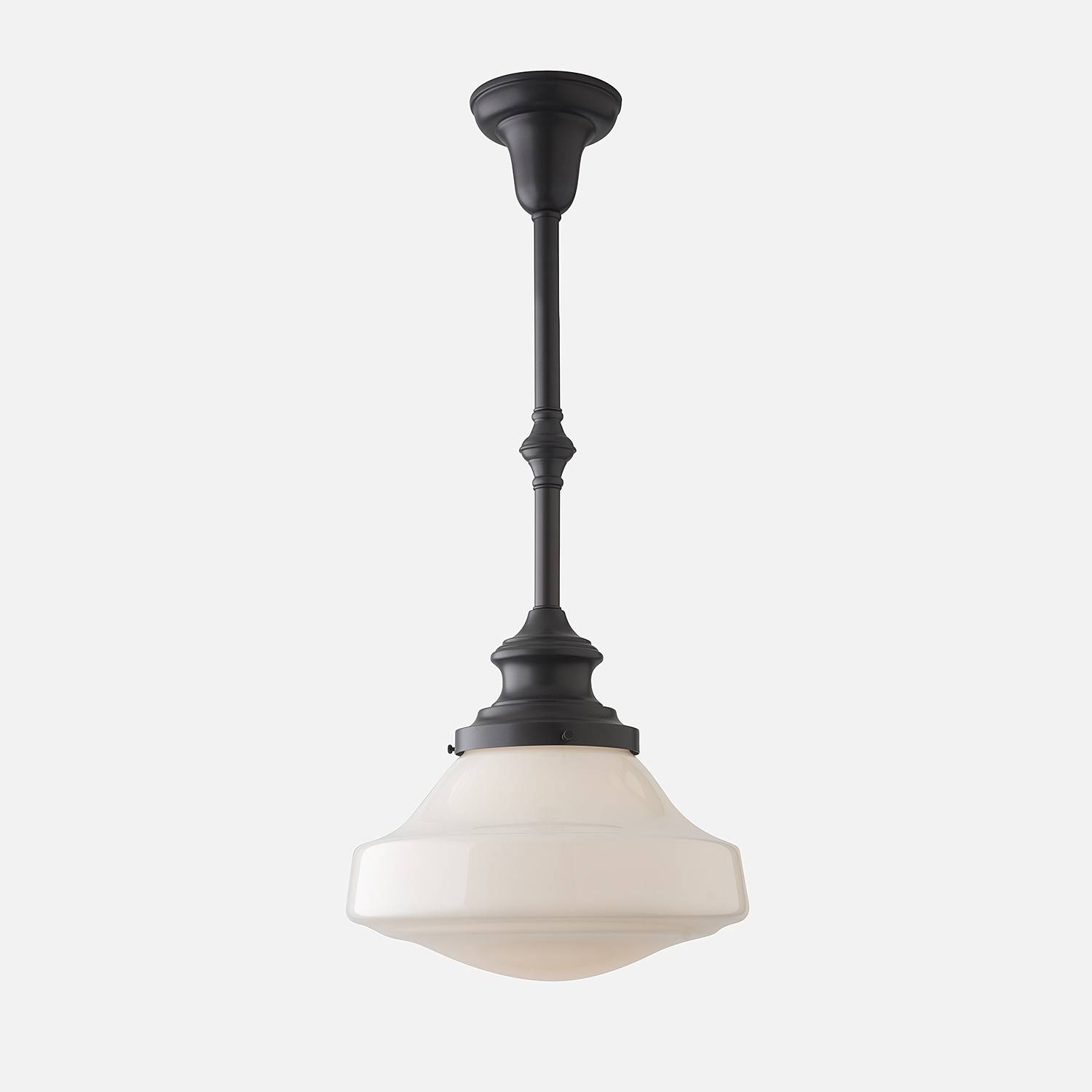 Antique Schoolhouse Pendant Light — All About Home Design : How To With Regard To Schoolhouse Pendant Lighting (View 7 of 15)