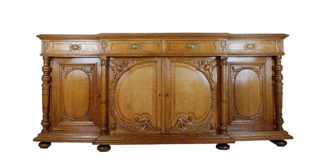 Antique Sideboard Perth, Antique Buffet, Aslett Antiques Regarding Antique Sideboards (View 9 of 15)