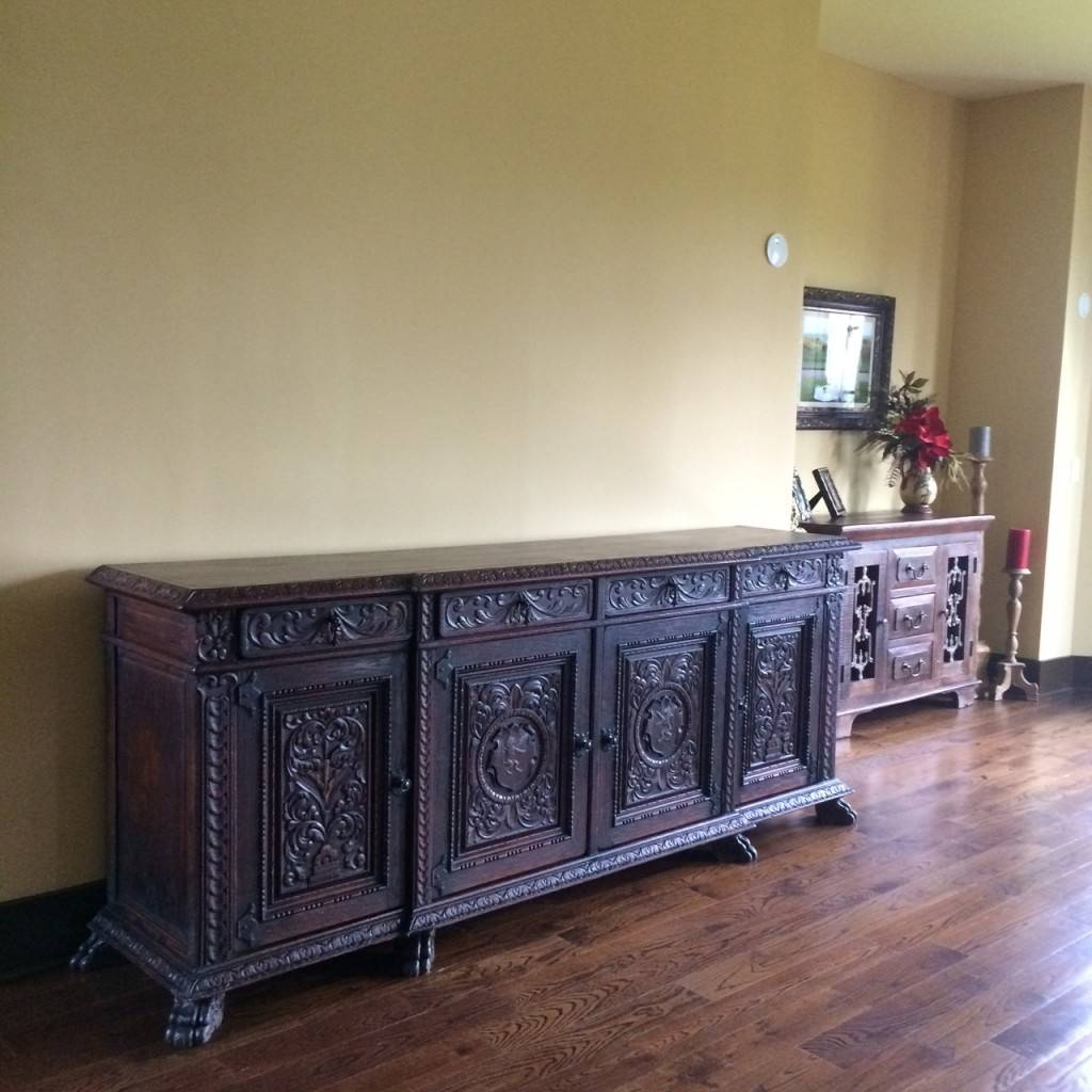 Antique Sideboards And Buffets Pictures — New Decoration : How To regarding Antique Sideboard Buffets (Image 4 of 15)