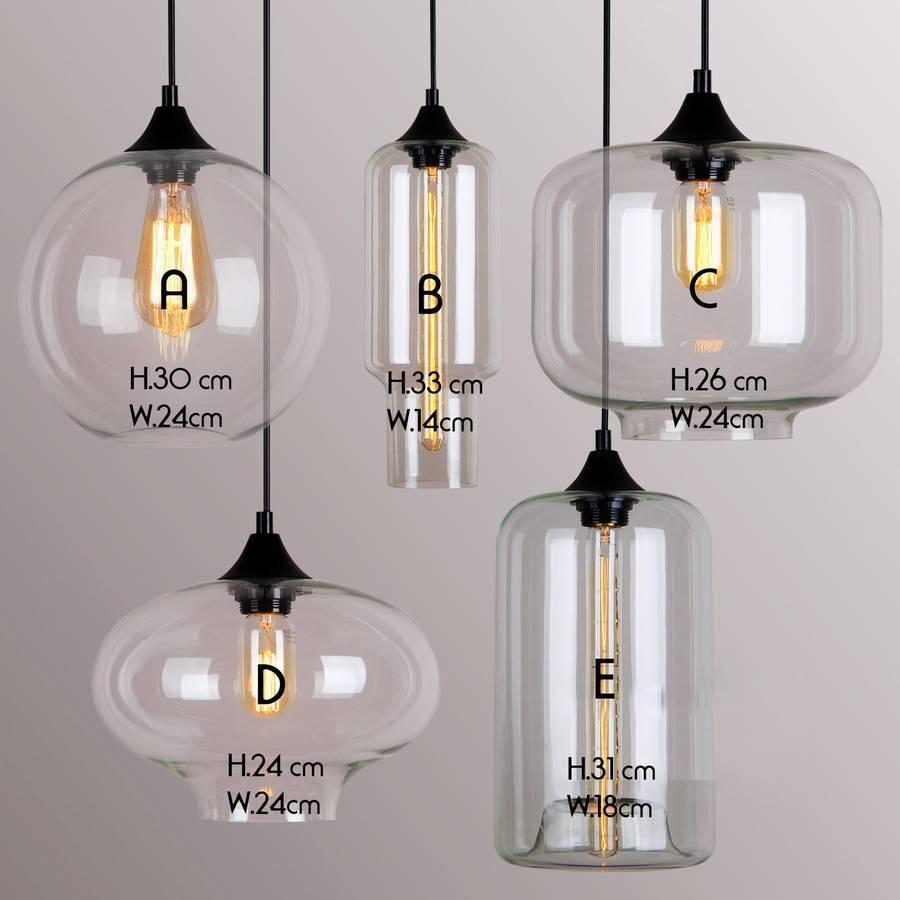 Art Deco Glass Pendant Lightunique's Co (View 1 of 15)