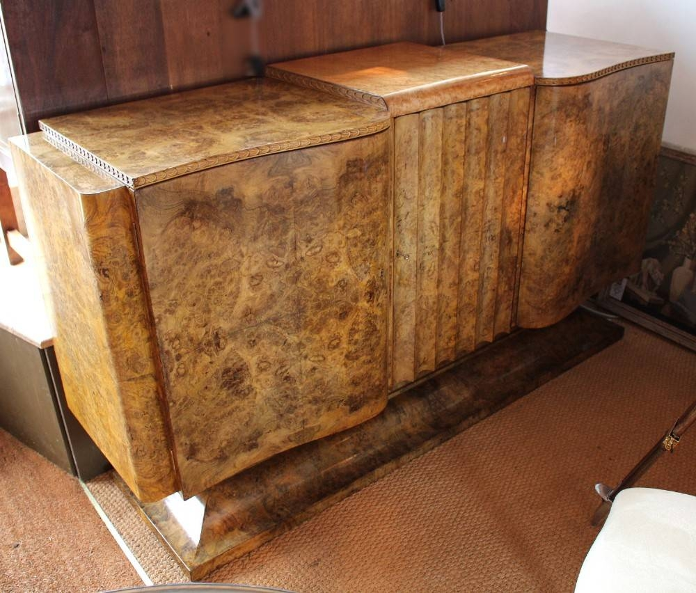 Art Deco Sideboard | 266297 | Sellingantiques.co.uk intended for Art Deco Sideboards (Image 4 of 15)