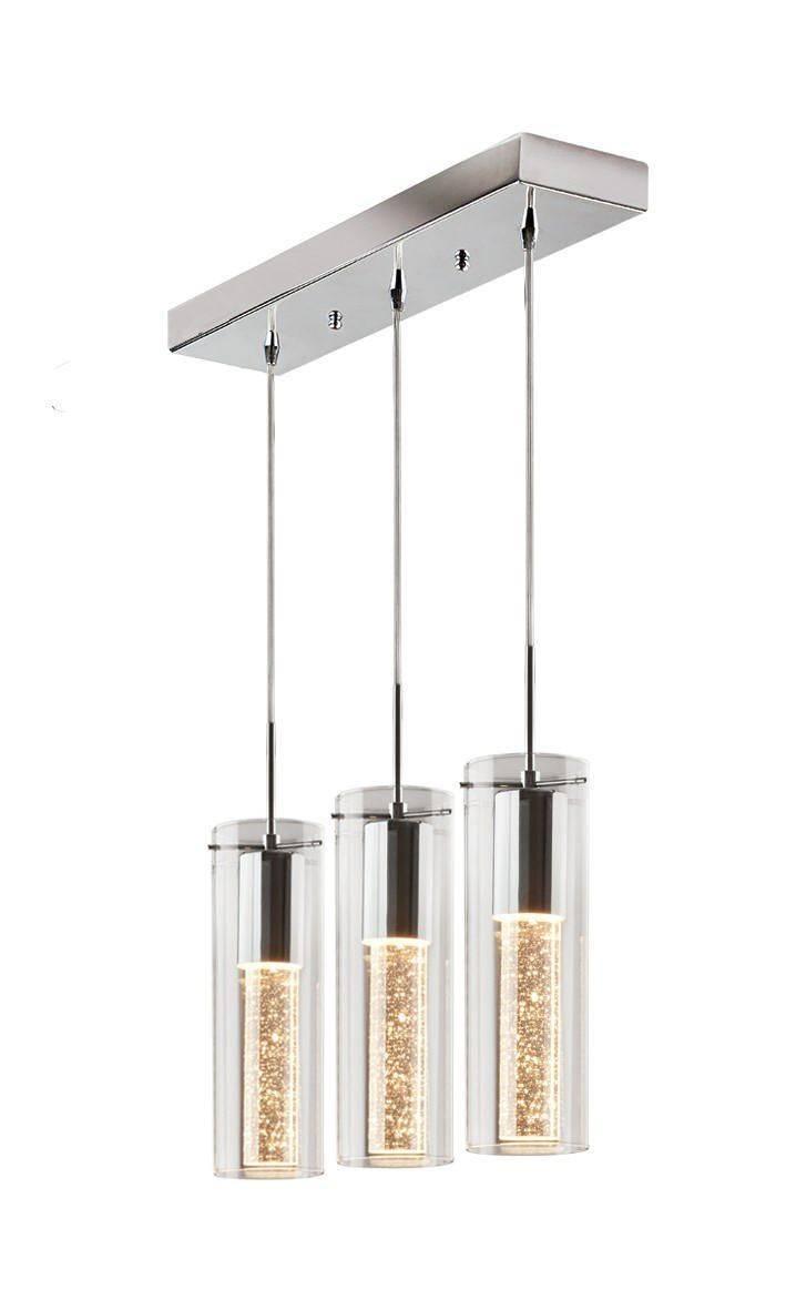 Artika Pendulum 3 Suspended Bubble Light Fixture | Walmart Canada Pertaining To Bubble Pendant Light Fixtures (View 10 of 15)