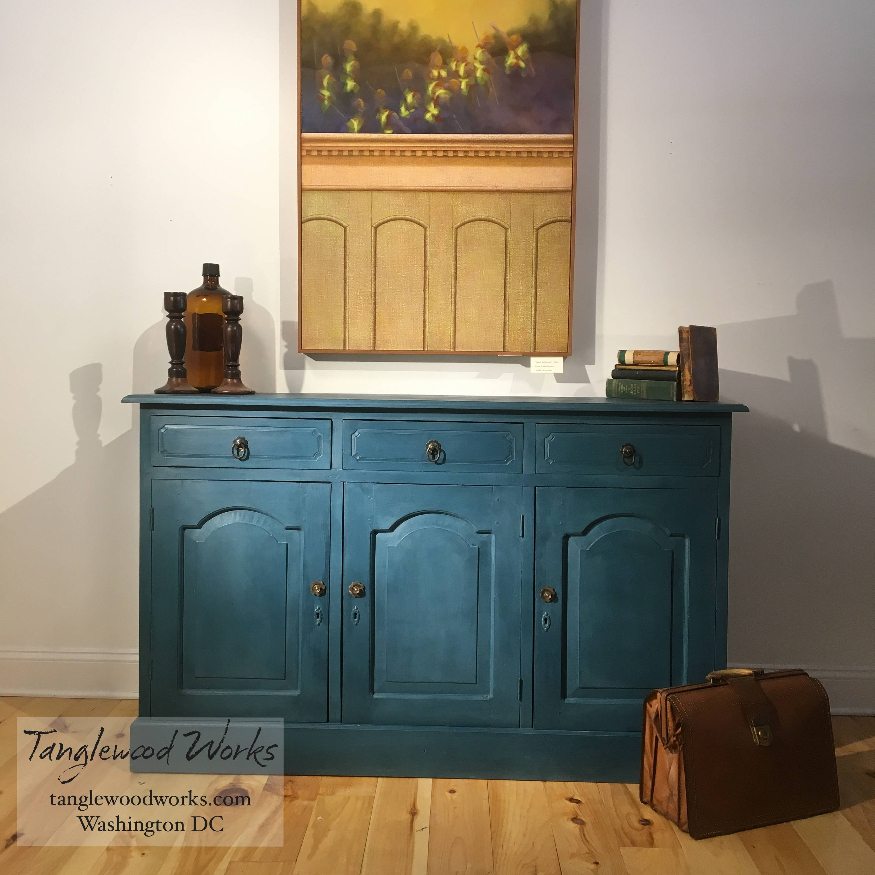 Featured Photo of Blue Buffet Sideboards