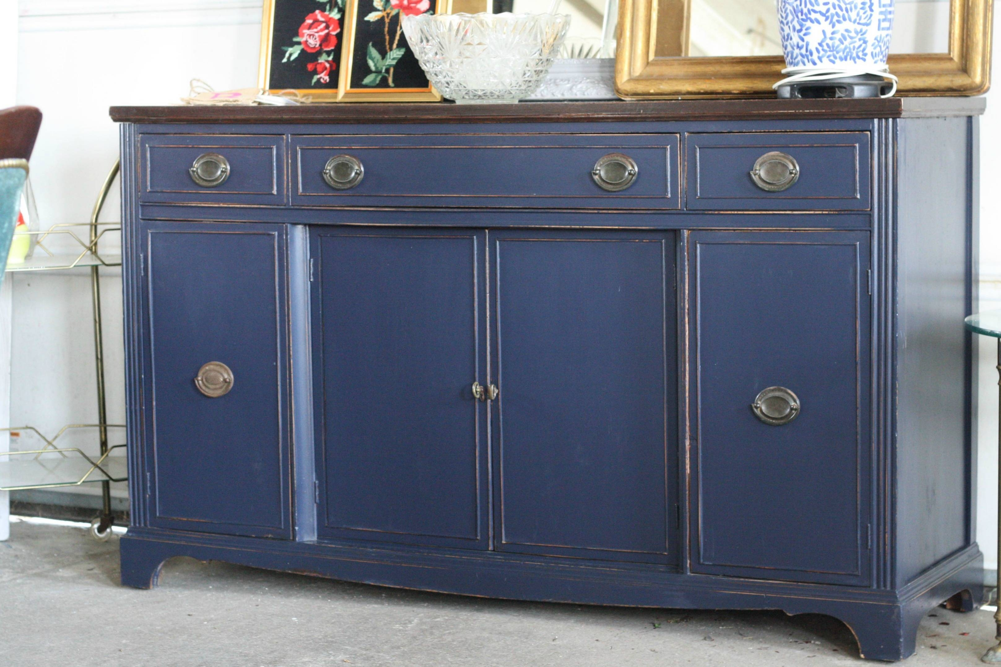 Awesome Blue Sideboard Buffet – Bjdgjy Throughout Blue Buffet Sideboards (View 3 of 15)
