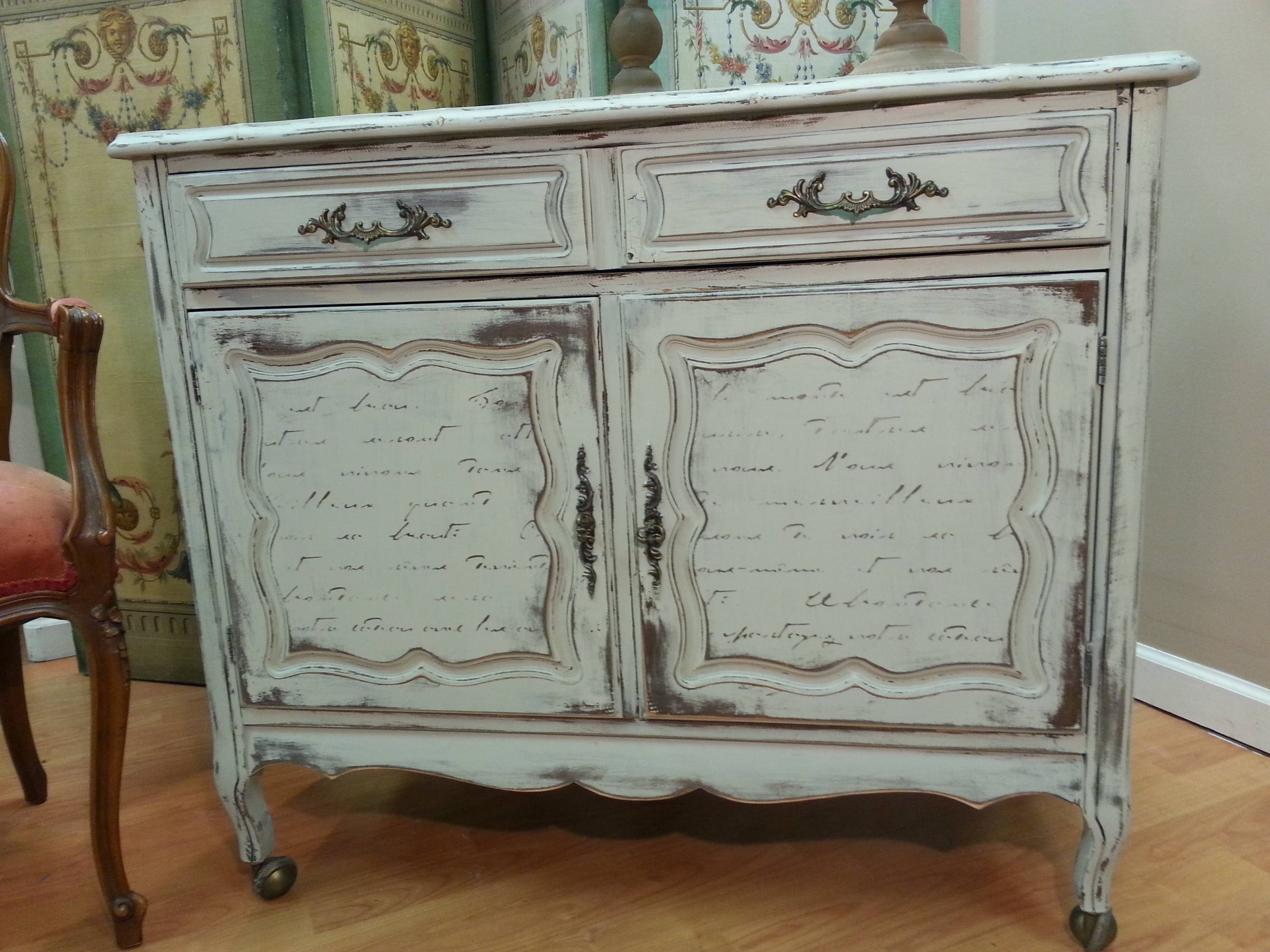 Awesome Shabby Chic Sideboard – Bjdgjy Intended For Shabby Chic Sideboards (View 1 of 15)