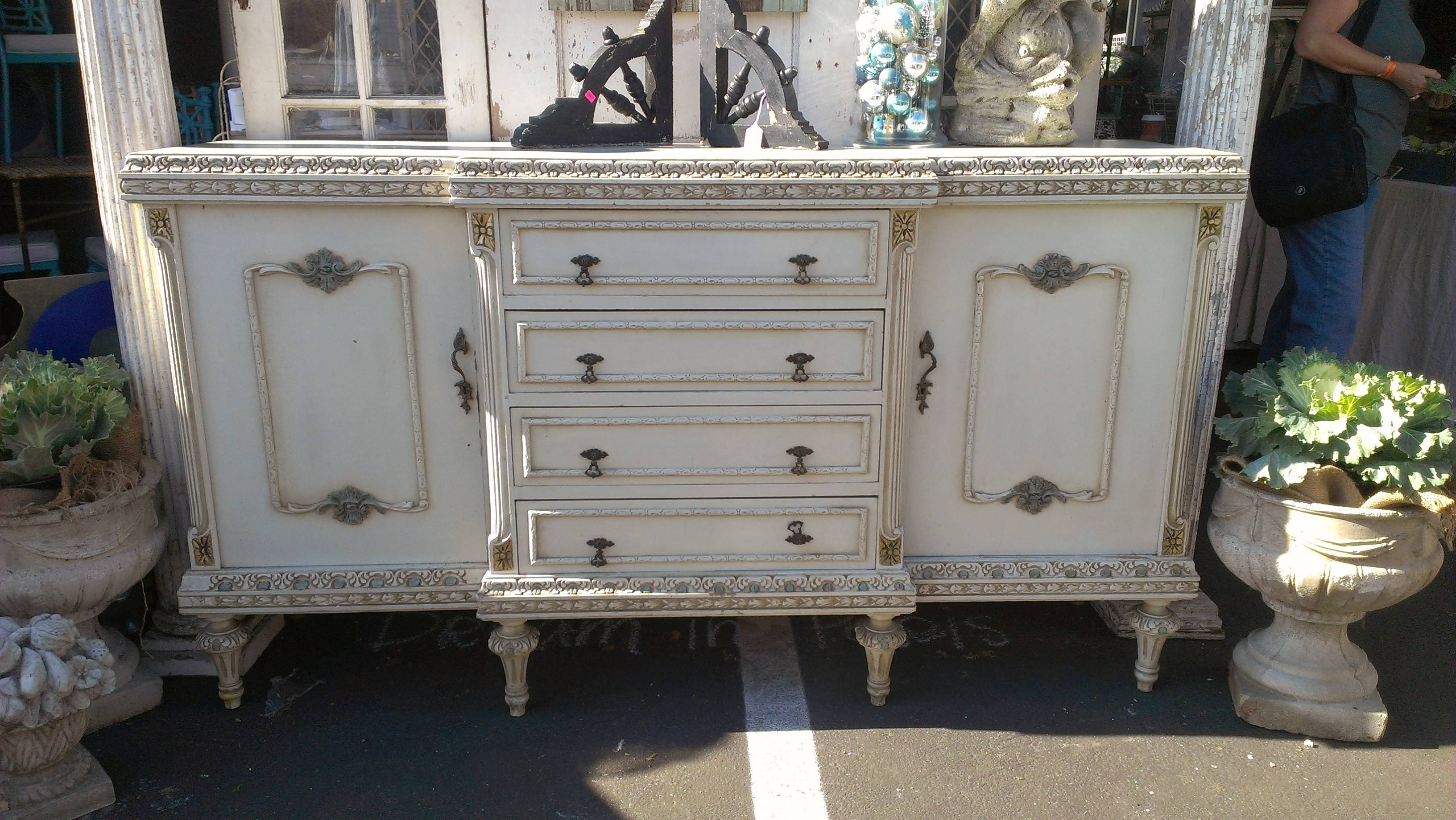 Beautiful French Carved Sideboard | Omero Home Inside French Sideboards (View 9 of 15)