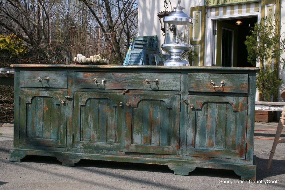 Beautiful Handcrafted Sideboards And Tables From Reclaimed Wood in Distressed Sideboards (Image 2 of 15)
