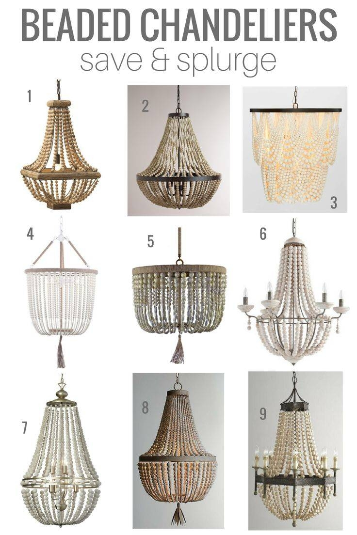 Best 25+ Beaded Chandelier Ideas On Pinterest | Bead Chandelier Regarding Beaded Pendant Light Shades (View 14 of 15)