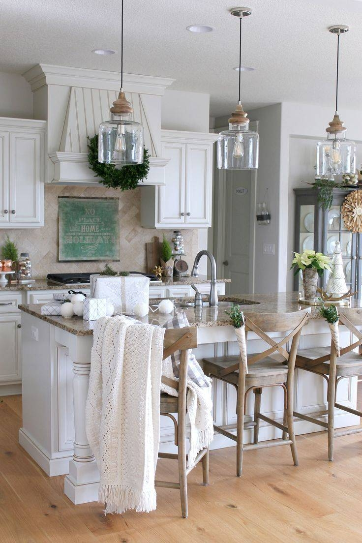 Featured Photo of Country Pendant Lighting For Kitchen