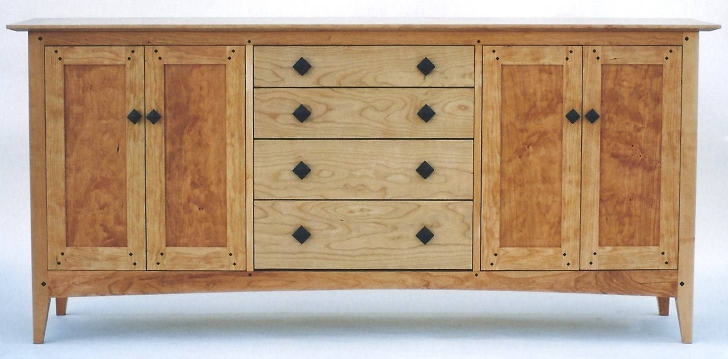 Best Of Vermont Studio Furniture regarding Mission Style Sideboards (Image 4 of 15)