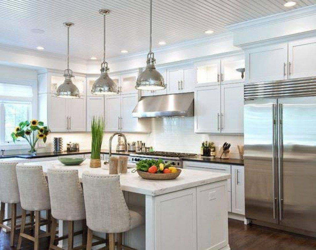 Best Under Cabinet Lighting Kitchen Island Pendants Pendant inside Island Pendant Lights (Image 2 of 15)