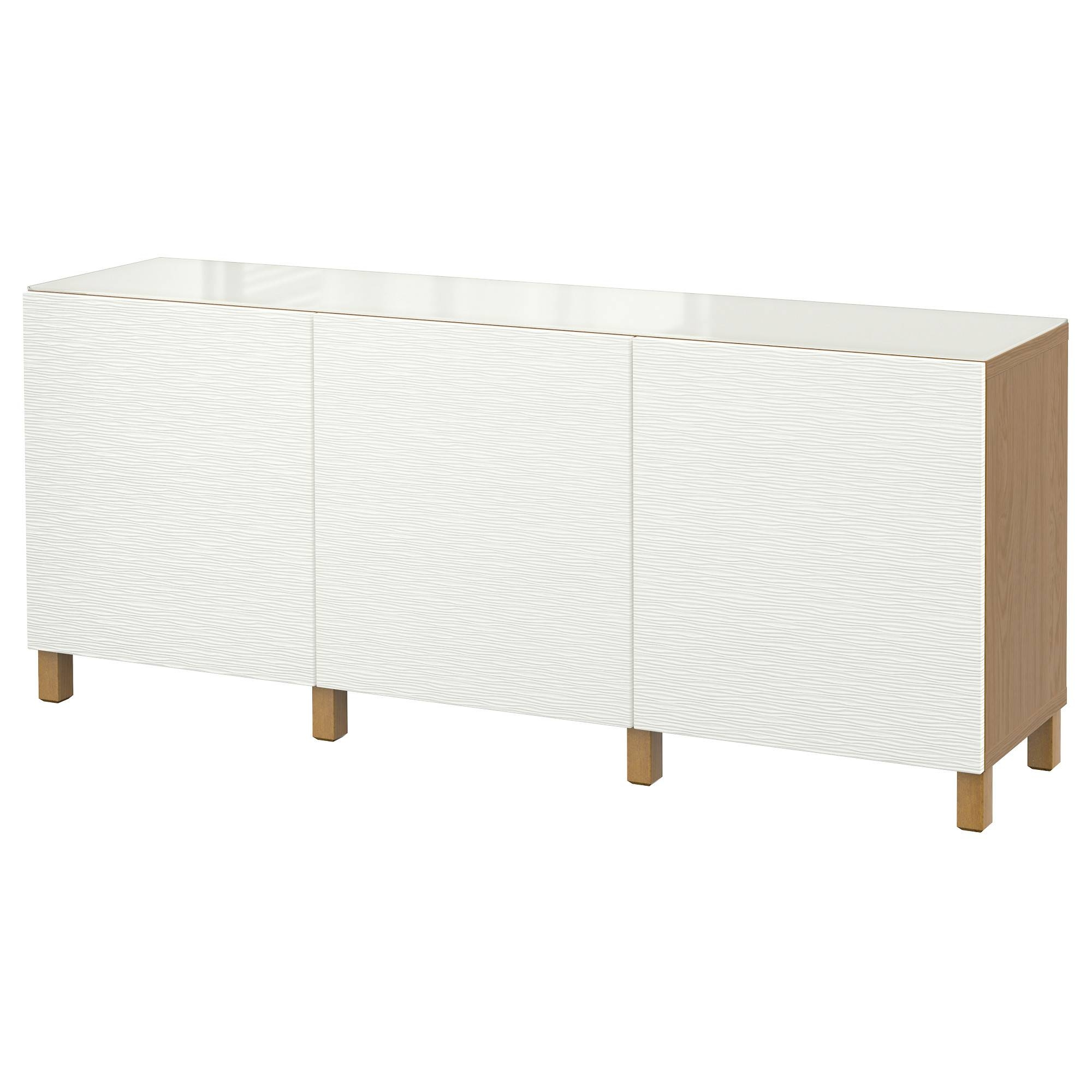2019 Latest White Gloss Ikea Sideboards