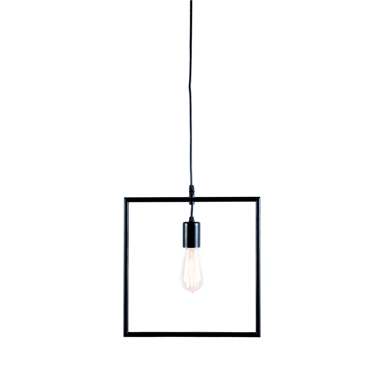 Black Square Pendant Light - Find & Decor pertaining to Square Pendant Light Fixtures (Image 2 of 15)