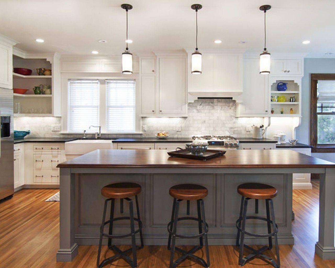 Breakfast Bar Pendant Lights Led Kitchen Lighting Island Ceiling Intended For Pendant Lighting For Island (View 4 of 15)