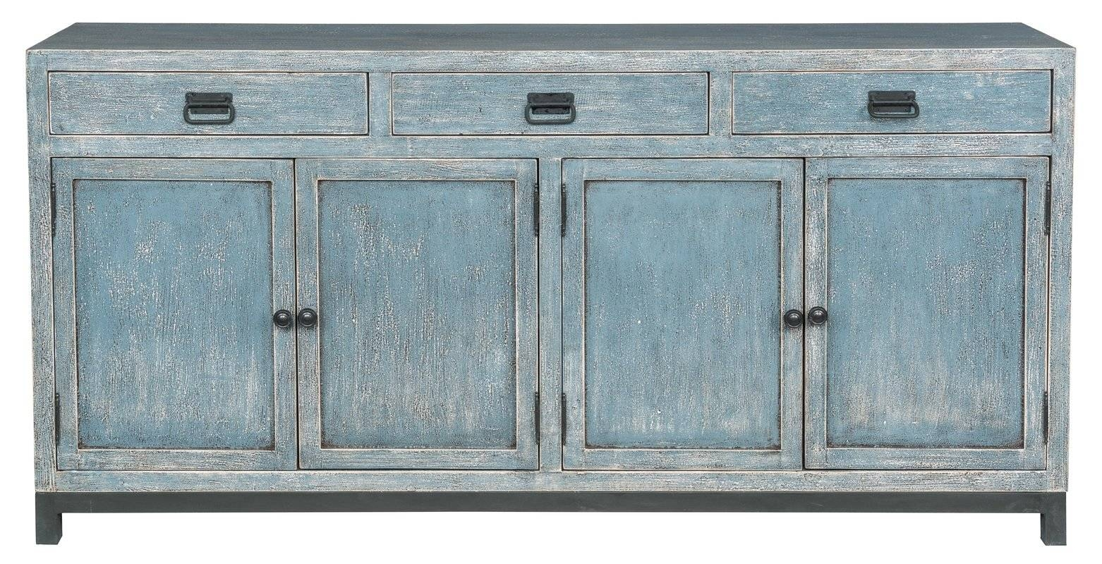 Breakwater Bay Gladeview Sideboard & Reviews | Wayfair Intended For Turquoise Sideboards (View 7 of 15)