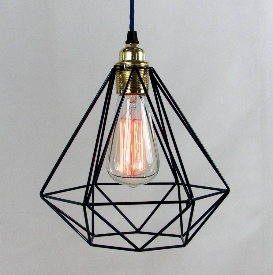 Bronze Cage Pendant Light : Removing Light Bulbs From A Cage intended for Bronze Cage Pendant Lights (Image 3 of 15)