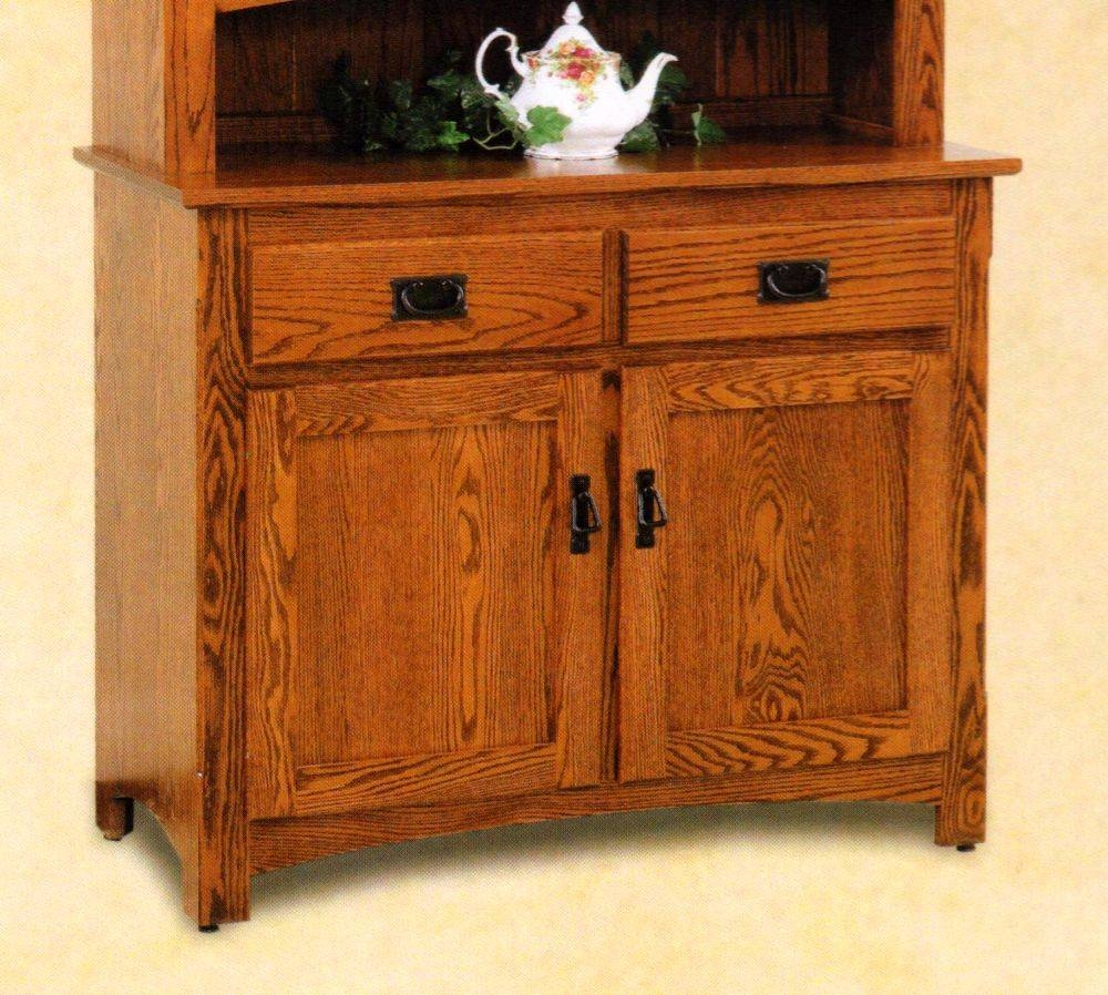 Buffets & Sideboards Archives - Amish Oak Furniture & Mattress Store with regard to Mission Sideboards (Image 3 of 15)