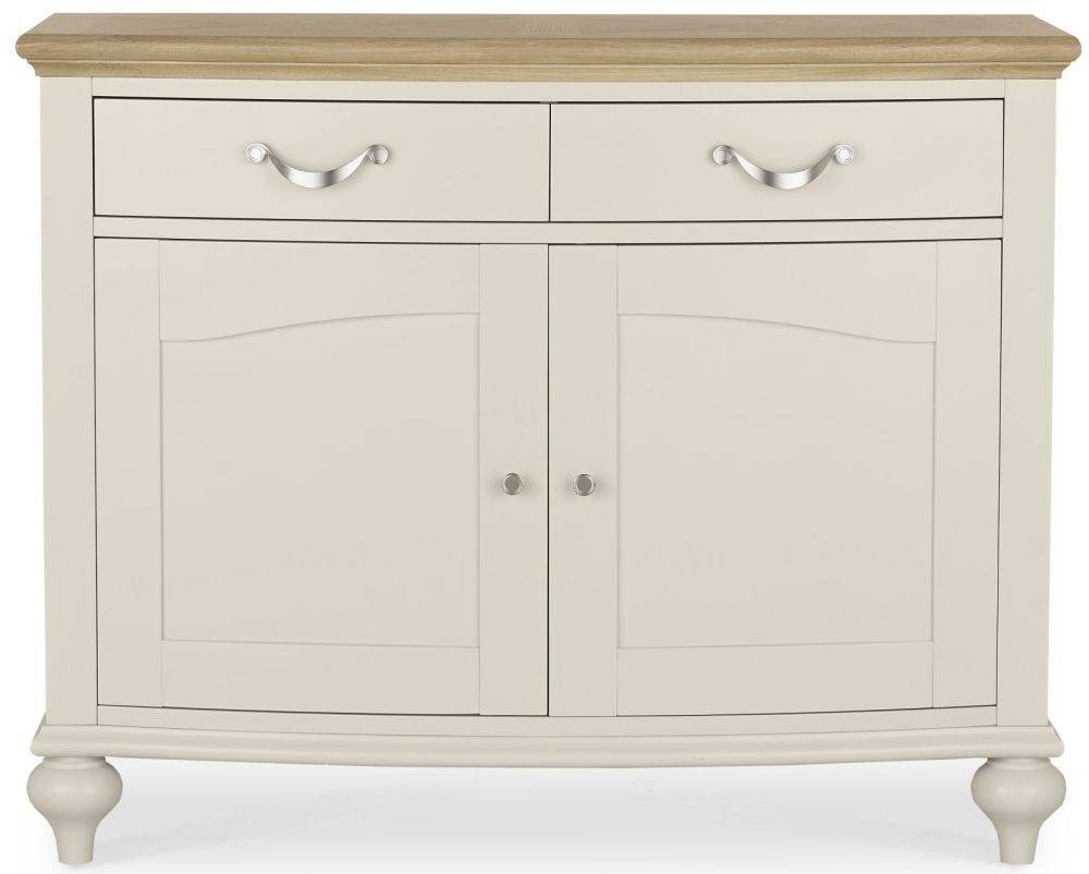 Buy Bentley Designs Montreux Pale Oak And Antique White Sideboard with Antique White Sideboards (Image 2 of 15)