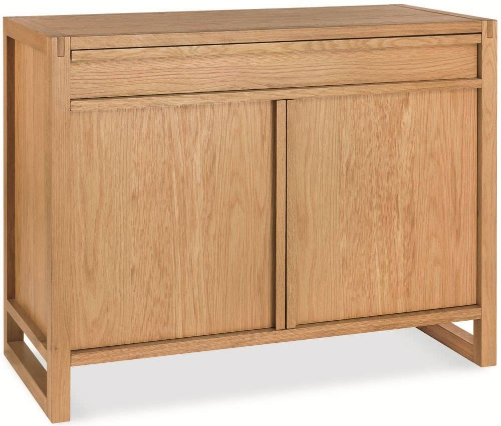 Buy Bentley Designs Studio Oak Sideboard – Narrow Online – Cfs Uk For Small Narrow Sideboards (View 3 of 15)