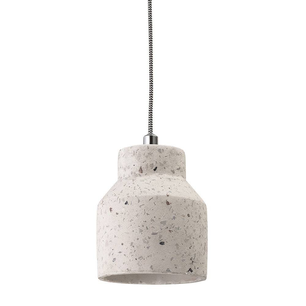 Buy Bloomingville Terrazzo Pendant Lamp - Natural | Amara with Natural Pendant Lights (Image 4 of 15)