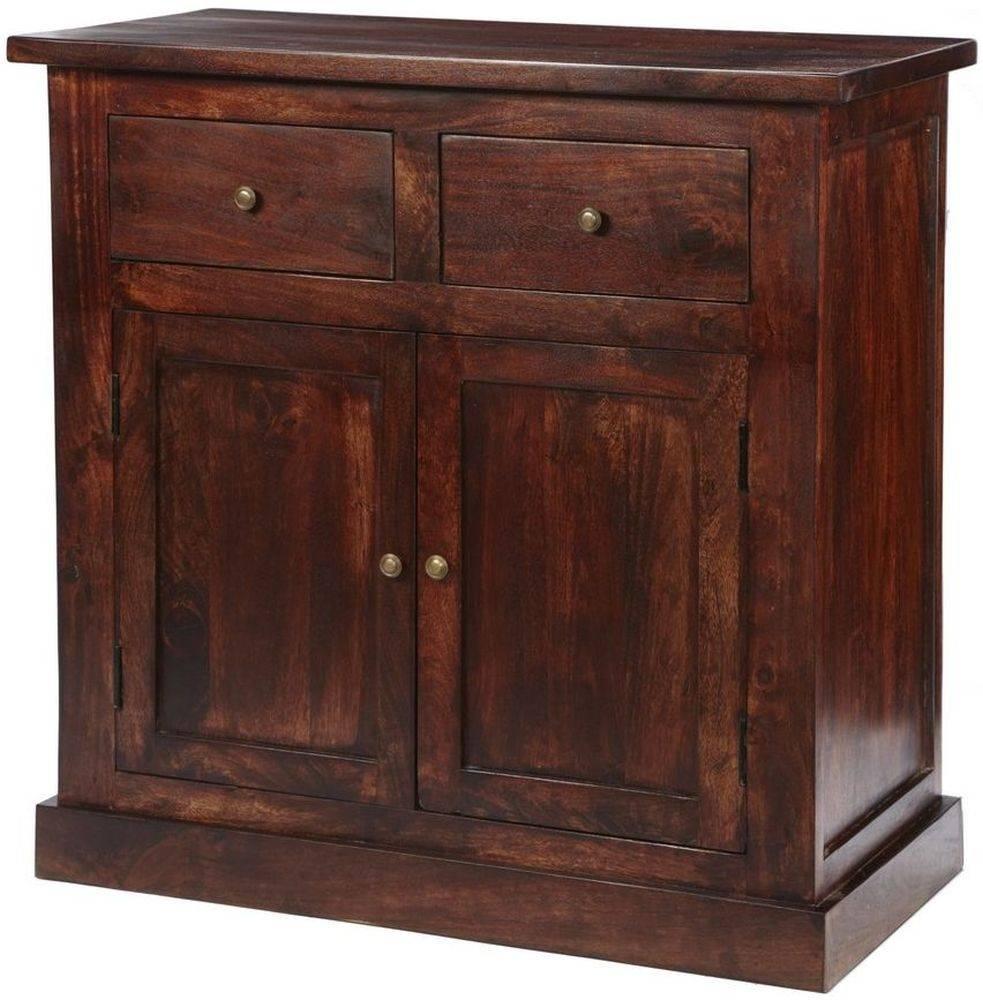 Buy Indian Hub Jaipur Dark Mango Sideboard - 2 Door Online - Cfs Uk throughout Indian Sideboard Furniture (Image 4 of 15)