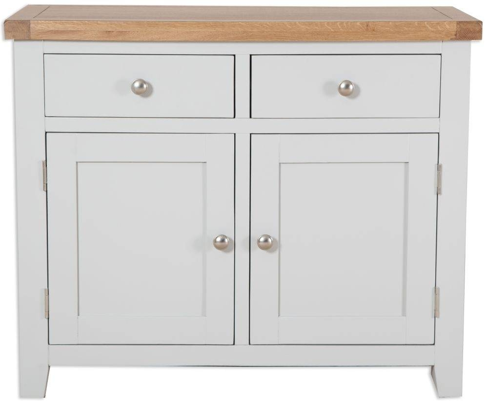 Buy Perth French Grey Sideboard - 2 Door Online - Cfs Uk throughout 2 Door Sideboards (Image 3 of 15)