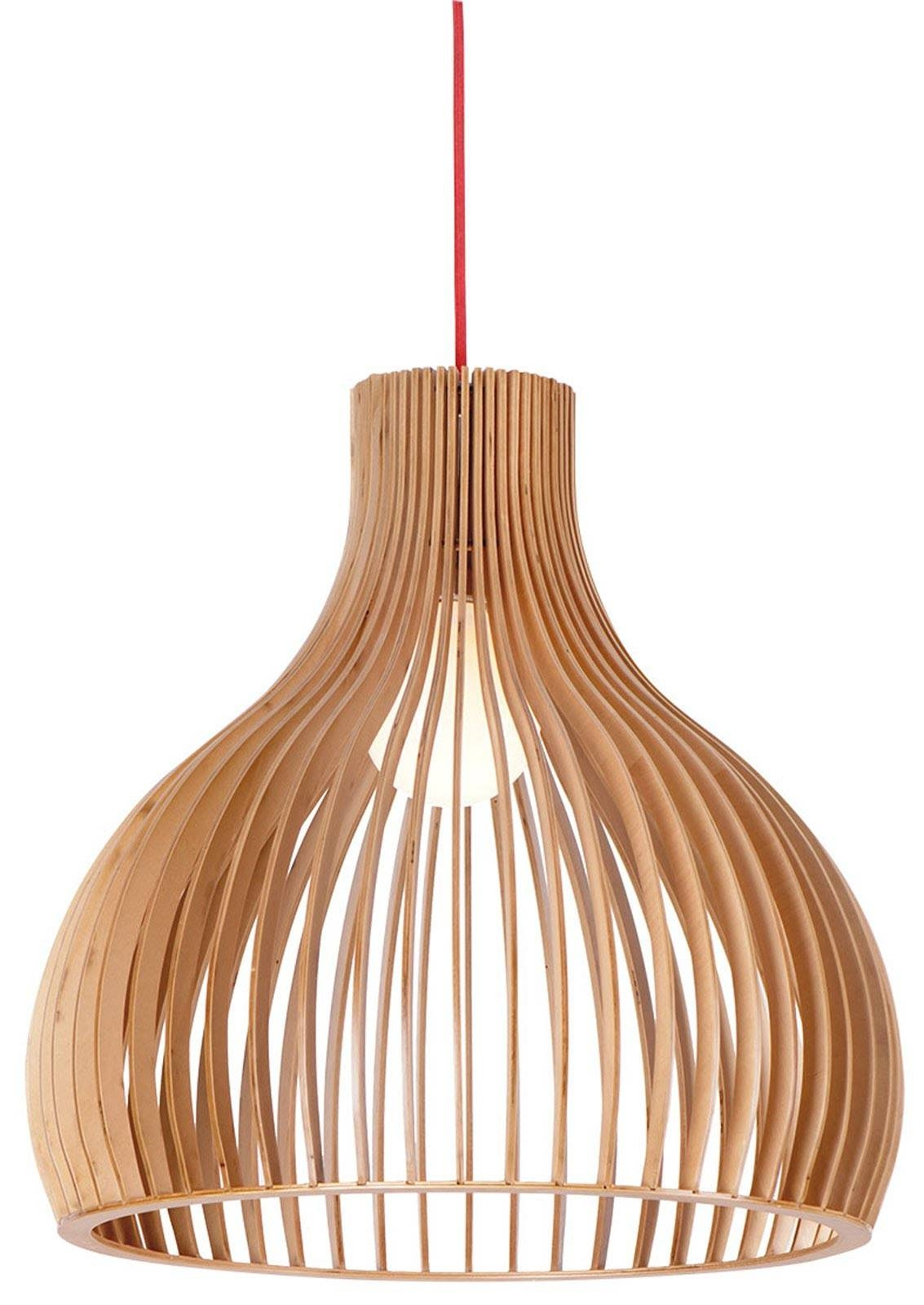 Buy Wood Pendant Light In Melbourne [malmo] – Youtube Throughout Wooden Pendant Lighting (View 8 of 15)