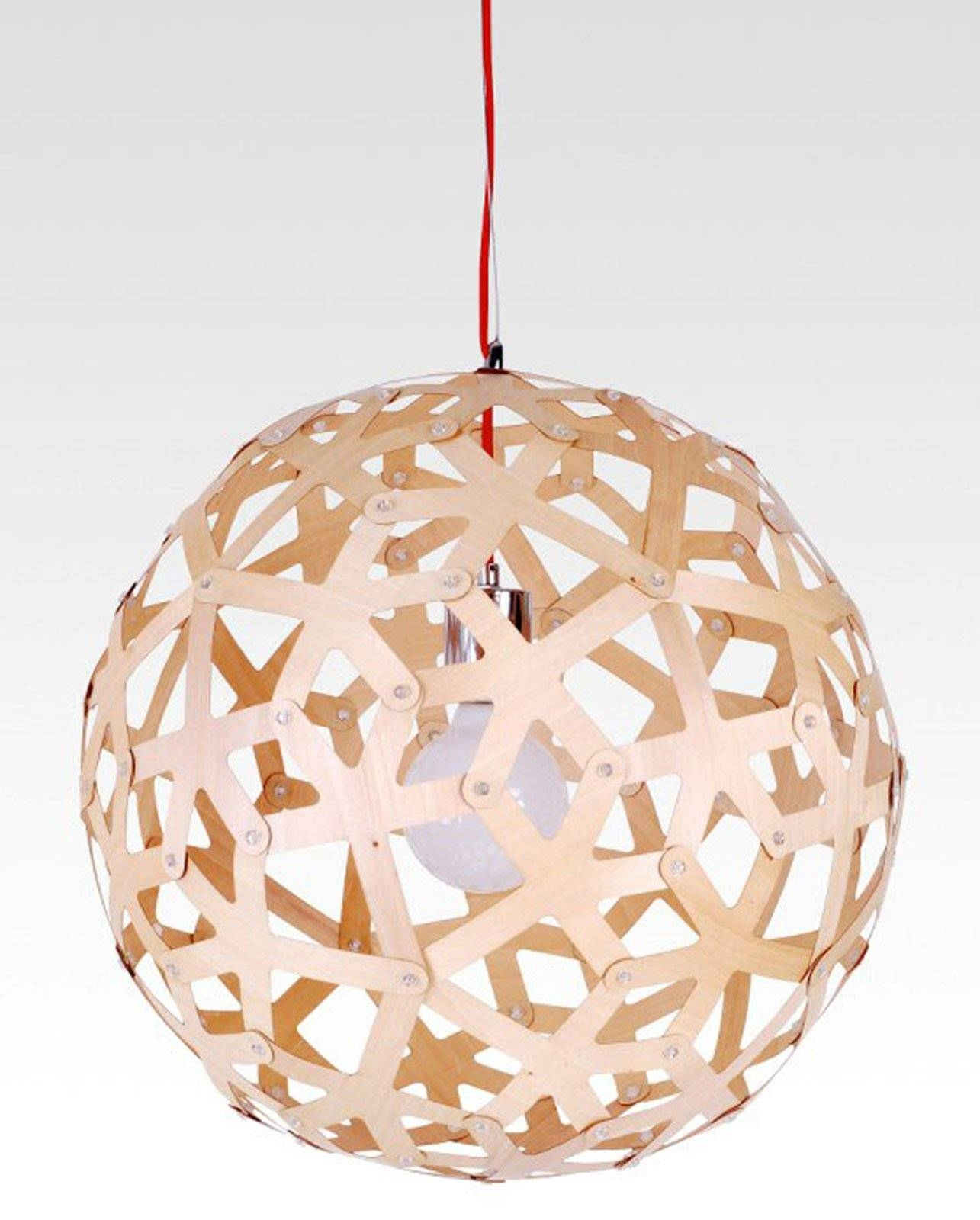 Buy Wood Pendant Light In Melbourne [sphere] – Youtube With Regard To Wooden Pendant Lighting (View 13 of 15)