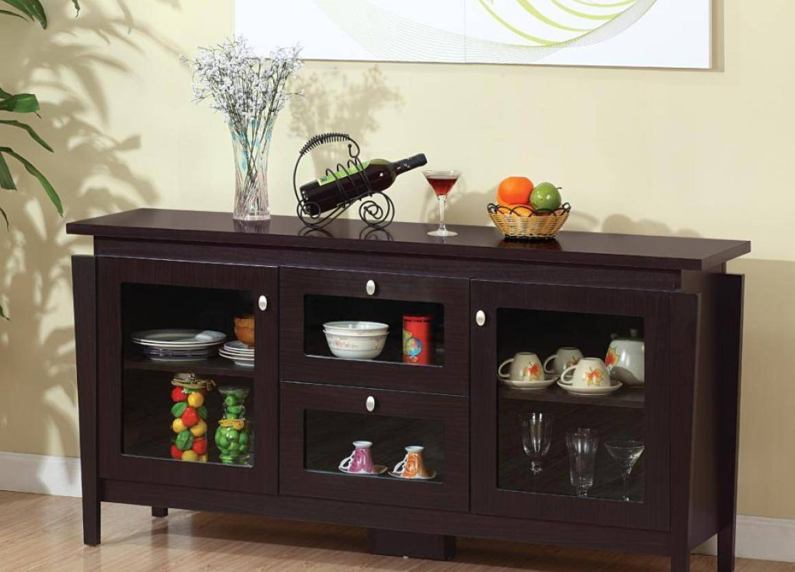 Cabinet : Awesome 60 Buffet Cabinet Awesome 60 Buffet Cabinet regarding 60 Inch Sideboards (Image 7 of 15)