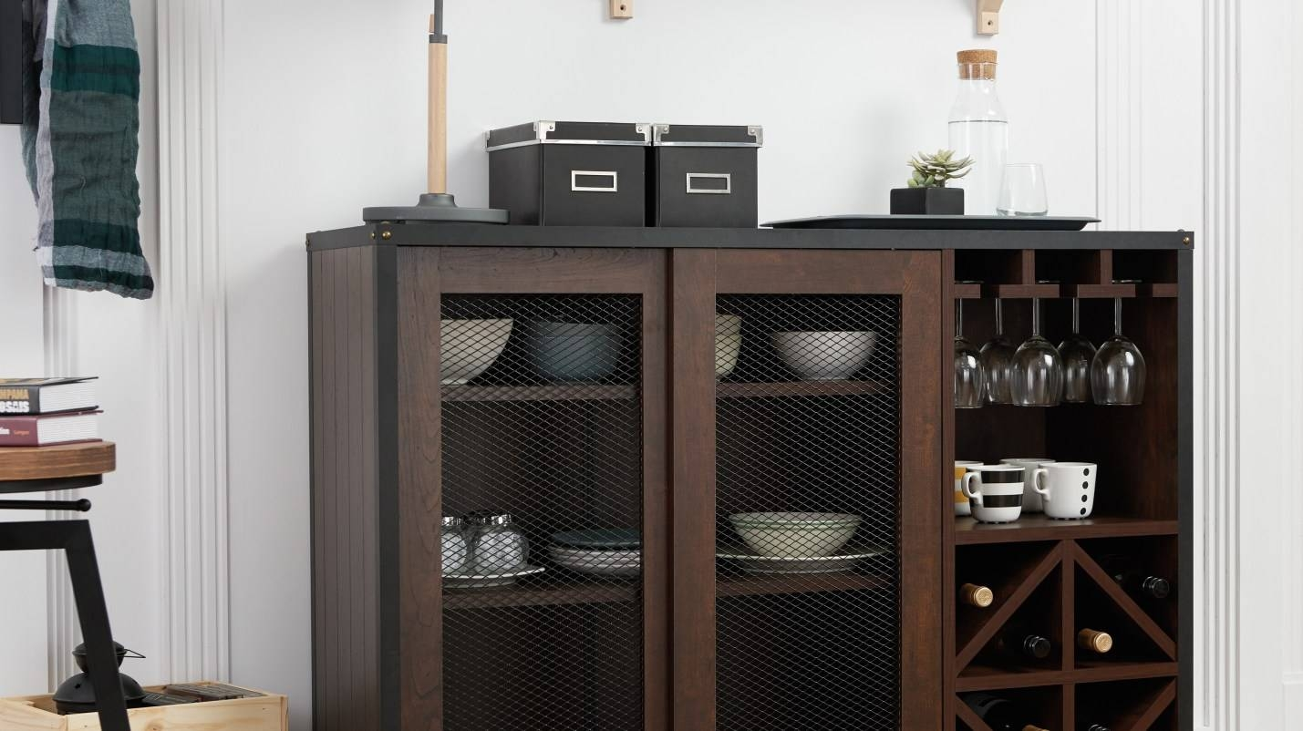 Cabinet : Bbi Beautiful Overstock Buffet Amazon Com Iohomes within Overstock Sideboards (Image 5 of 15)