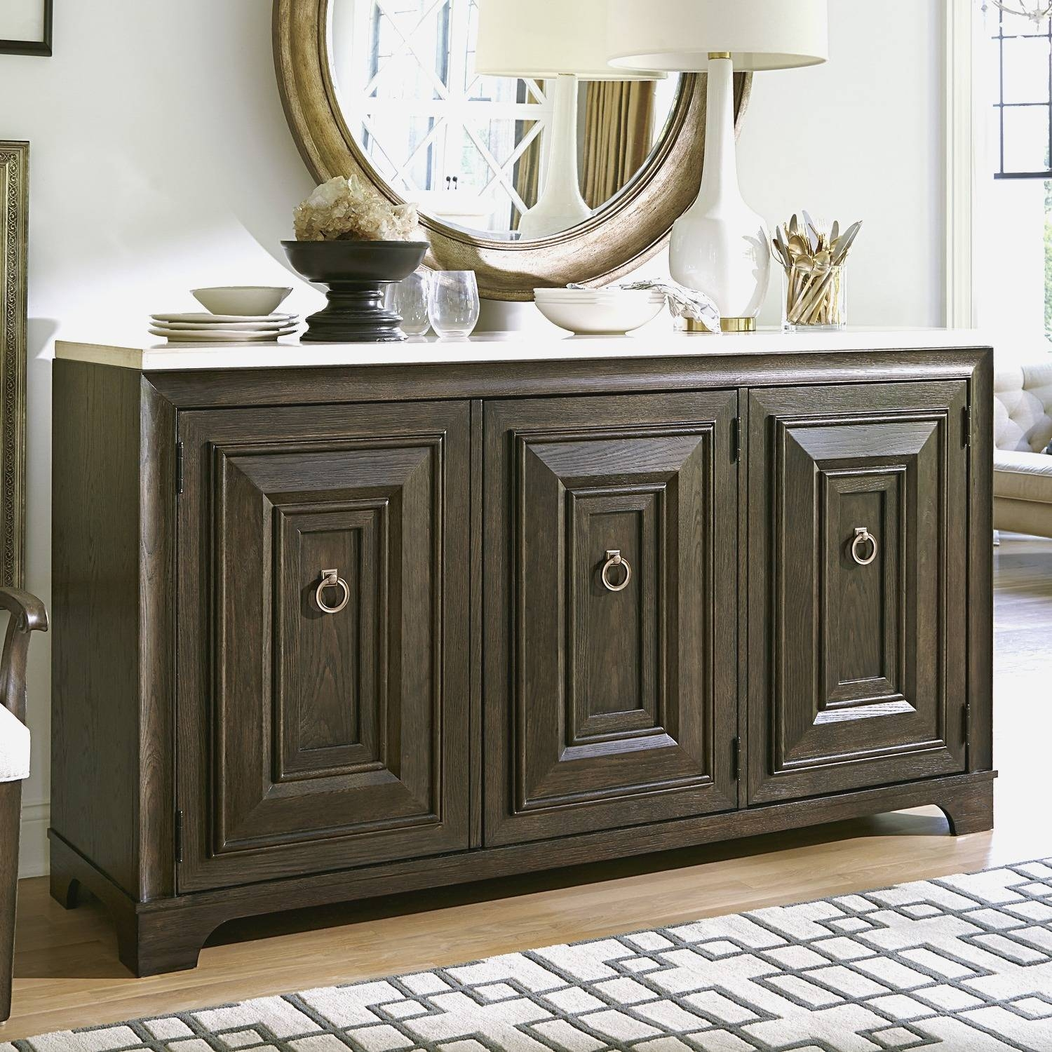 Cabinet : Large Buffets And Sideboards Wonderful Sideboards And intended for Mirror Over Sideboards (Image 4 of 15)