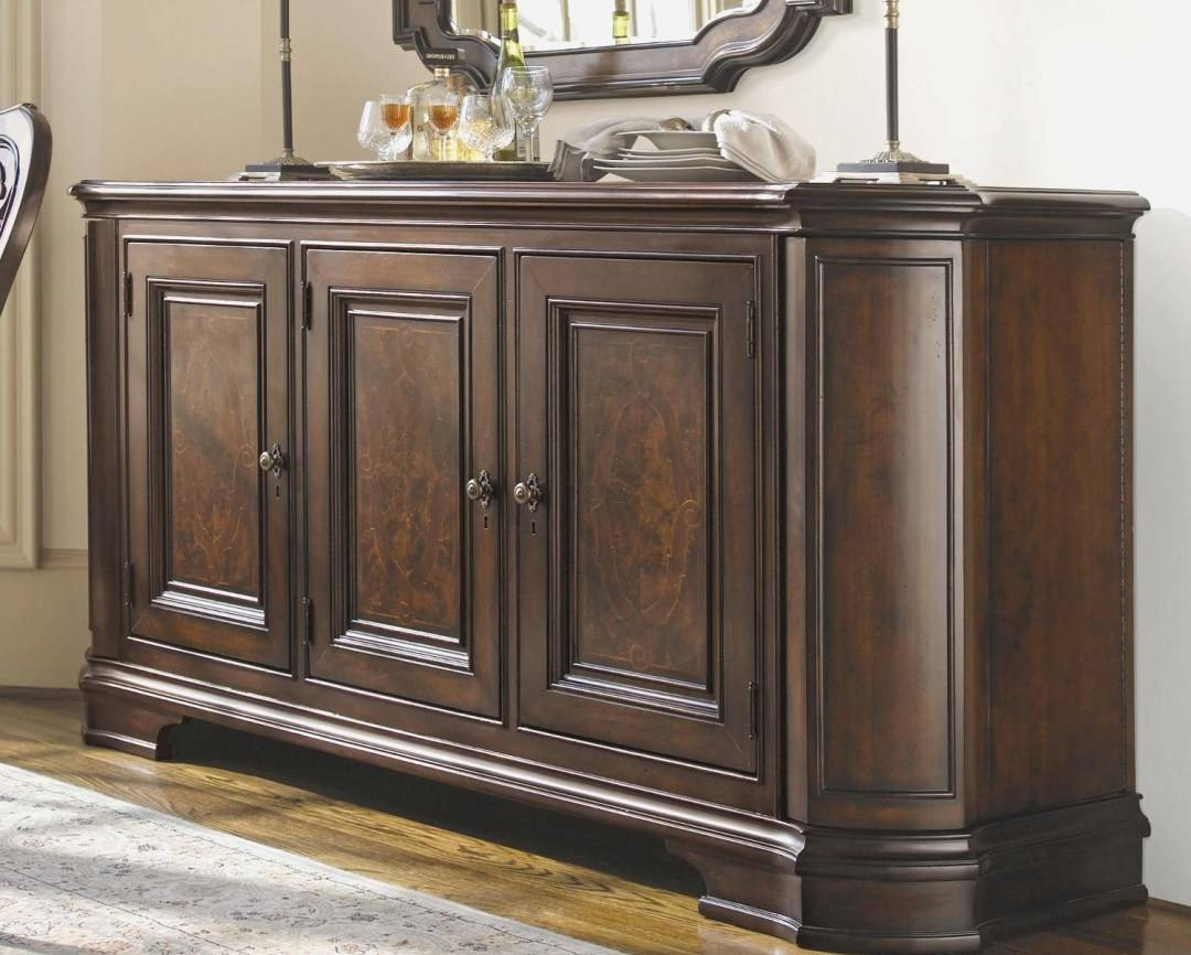 Cabinet : Trendy Antique Oak Sideboards And Buffets Favorable In Trendy Sideboards (View 12 of 15)
