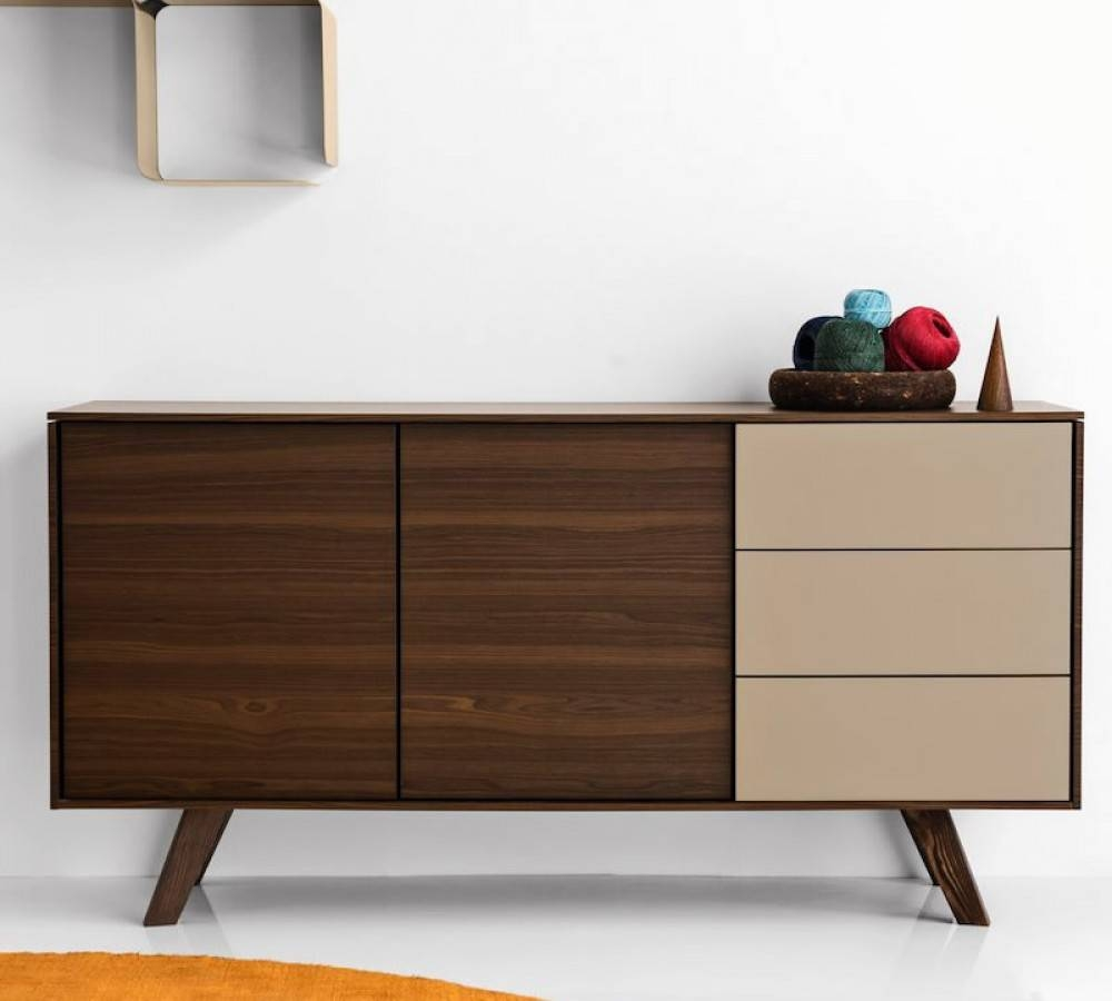Calligaris Adam Sideboard | Cs/6052 4 – Design Icons Throughout Quirky Sideboards (View 13 of 15)
