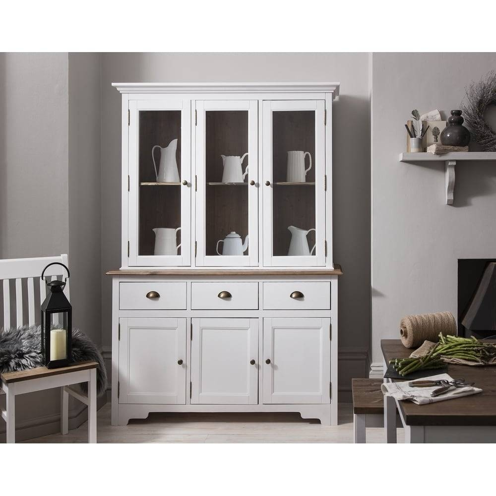 Canterbury Dresser And Sideboard With Glass Doors | Noa & Nani For Sideboards With Glass Doors And Drawers (View 2 of 15)