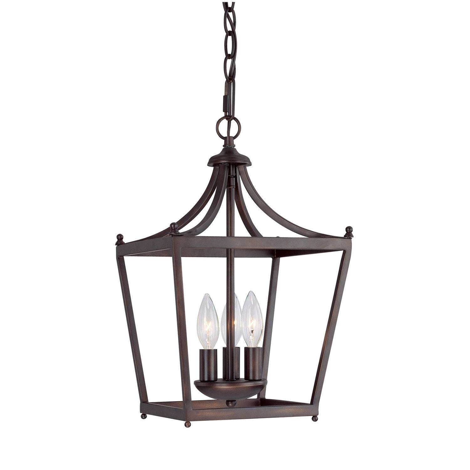 Capital Lighting Fixture Company Stanton Burnished Bronze Three For Foyer Pendant Light Fixtures (View 2 of 15)
