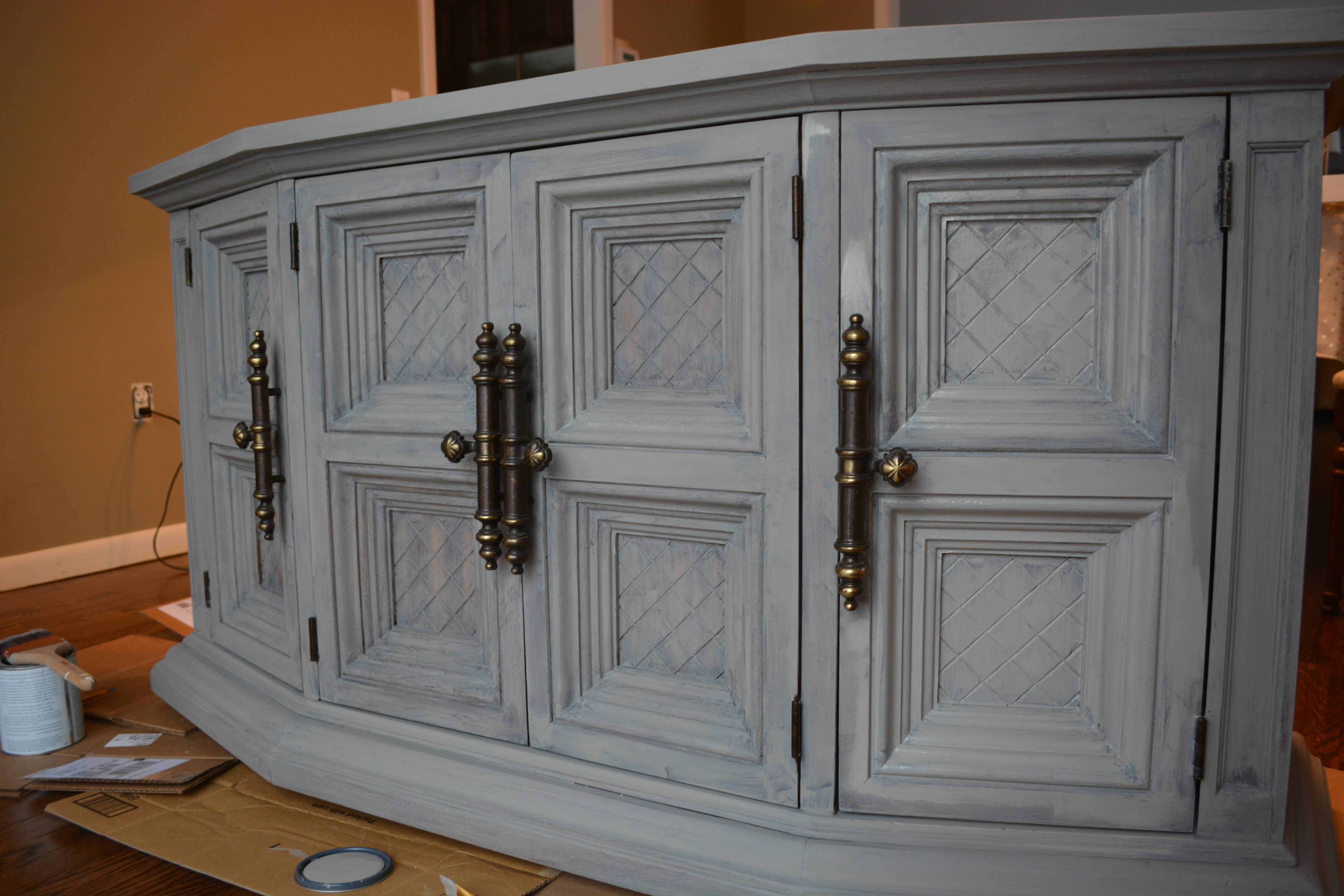 Chalk Painted Buffet Makeover (Rh Inspired) Pertaining To Chalk Painted Sideboards (View 5 of 15)