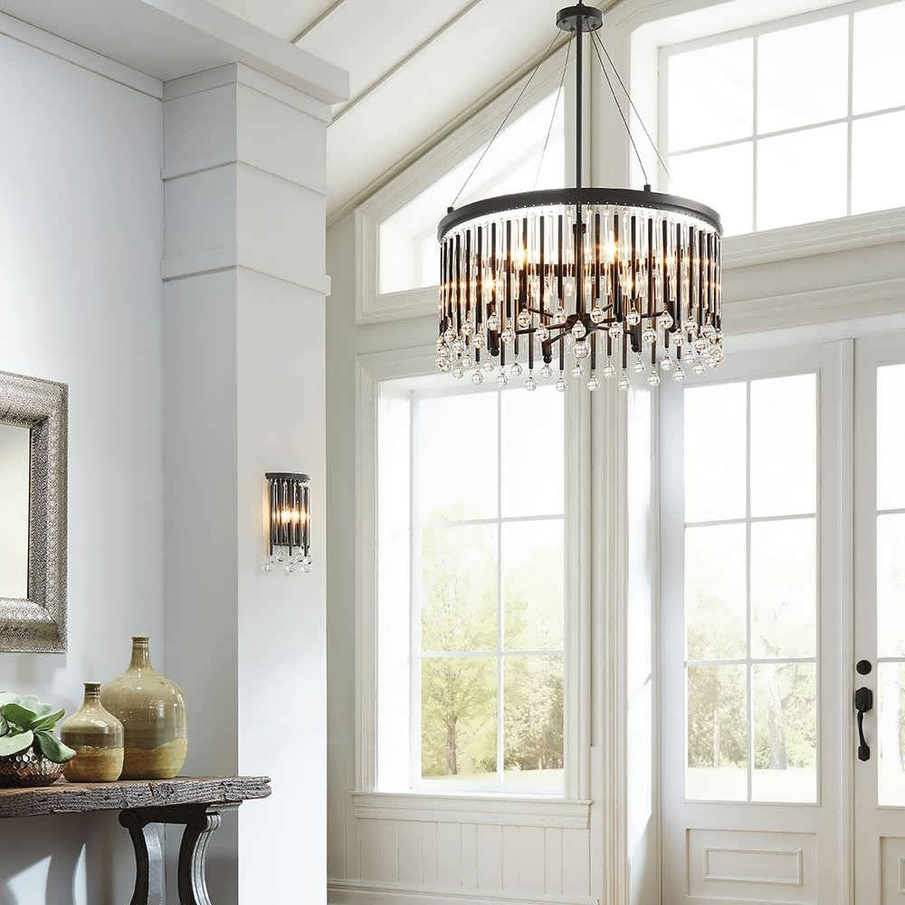 Chandelier : Large Entryway Light Fixtures Led Chandelier Foyer For Foyer Pendant Light Fixtures (View 12 of 15)