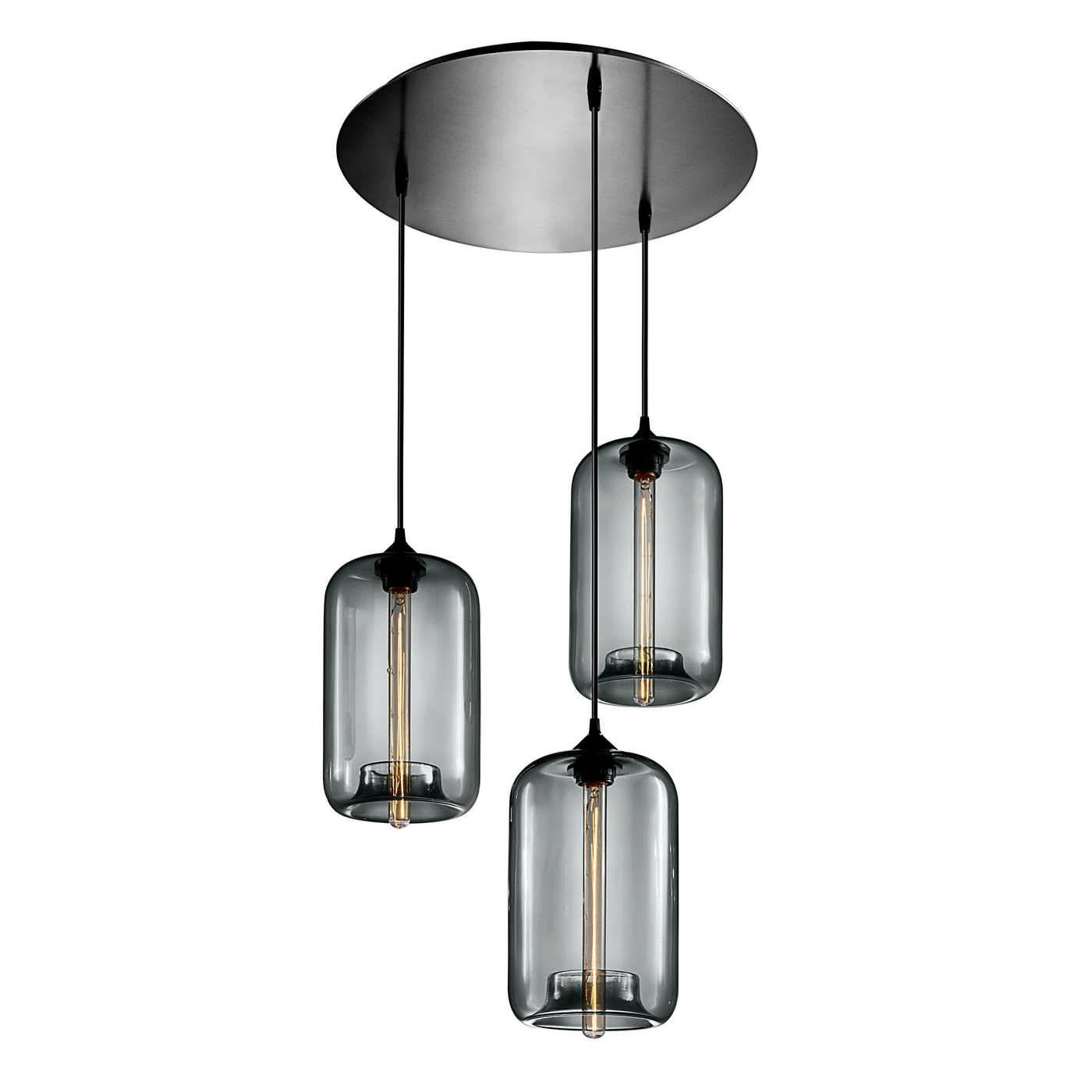 Chandelier : Round Pendant Light Bathroom Pendant Lighting Pendant intended for Round Glass Pendant Lights (Image 1 of 15)