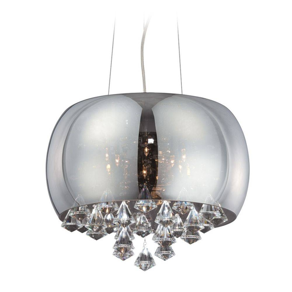 Chandeliers Design : Fabulous Large Drum Chandelier Modern Pendant Within Beaded Pendant Light Shades (View 12 of 15)