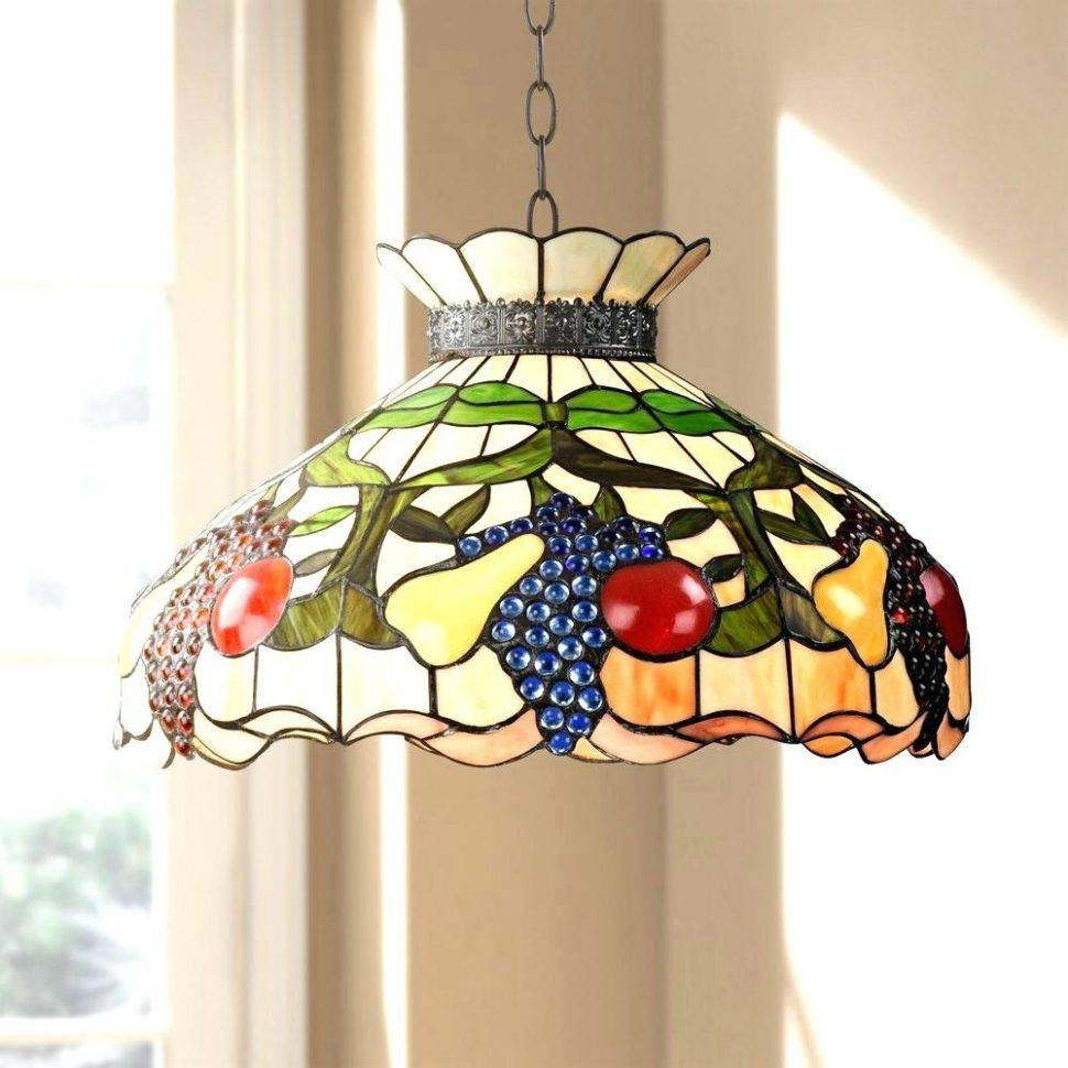 Chandeliers Design : Magnificent Chandelier Tiffany Style Pendant In Tiffany Style Pendant Light Fixtures (View 10 of 15)