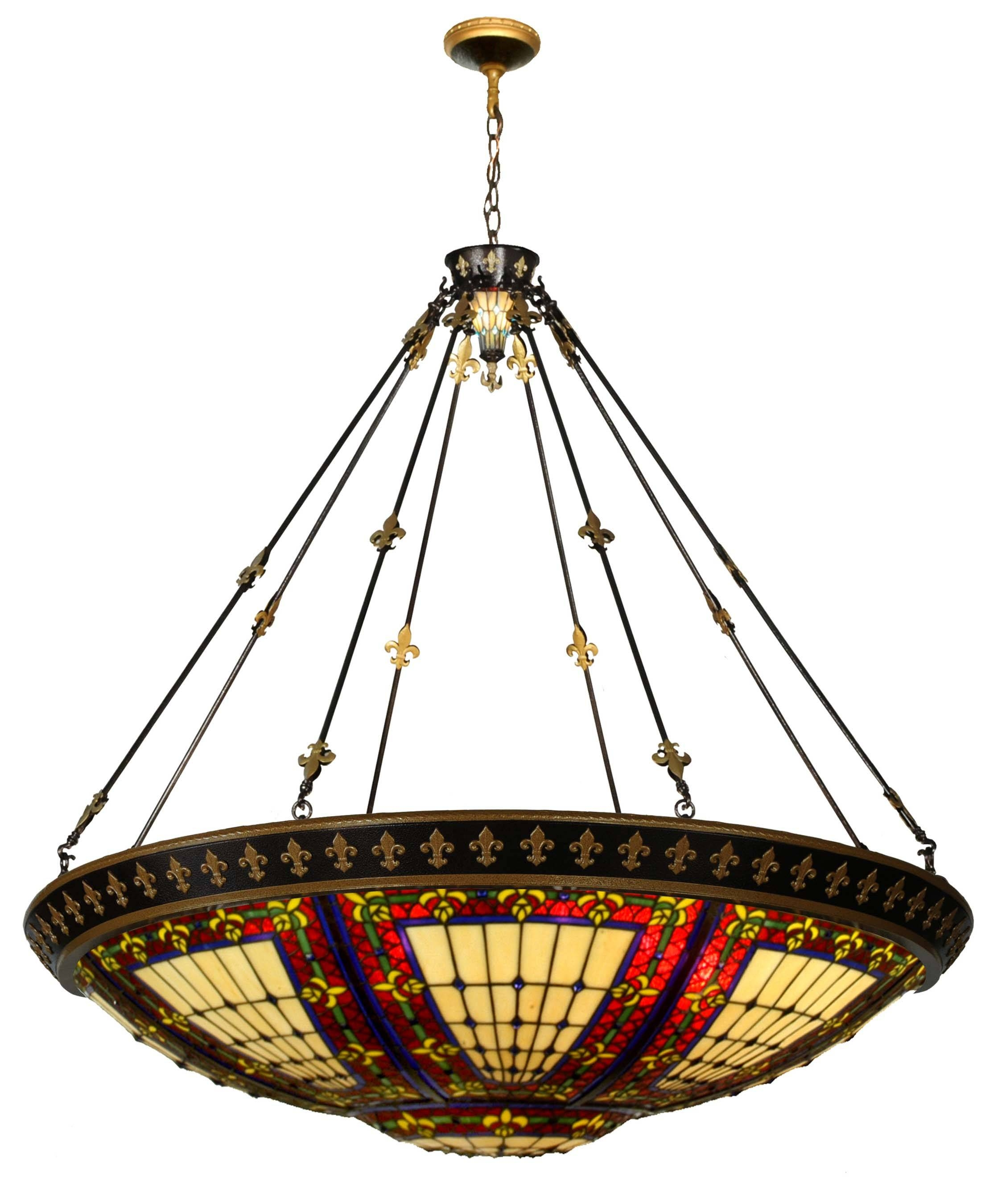 Chandeliers Design : Magnificent Chandelier Tiffany Style Pendant Throughout Tiffany Style Pendant Light Fixtures (View 14 of 15)