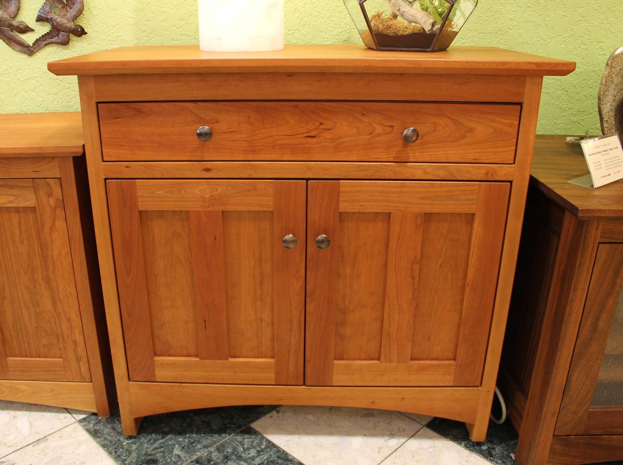 "Cherry ""prairie"" Two Door Sideboard 