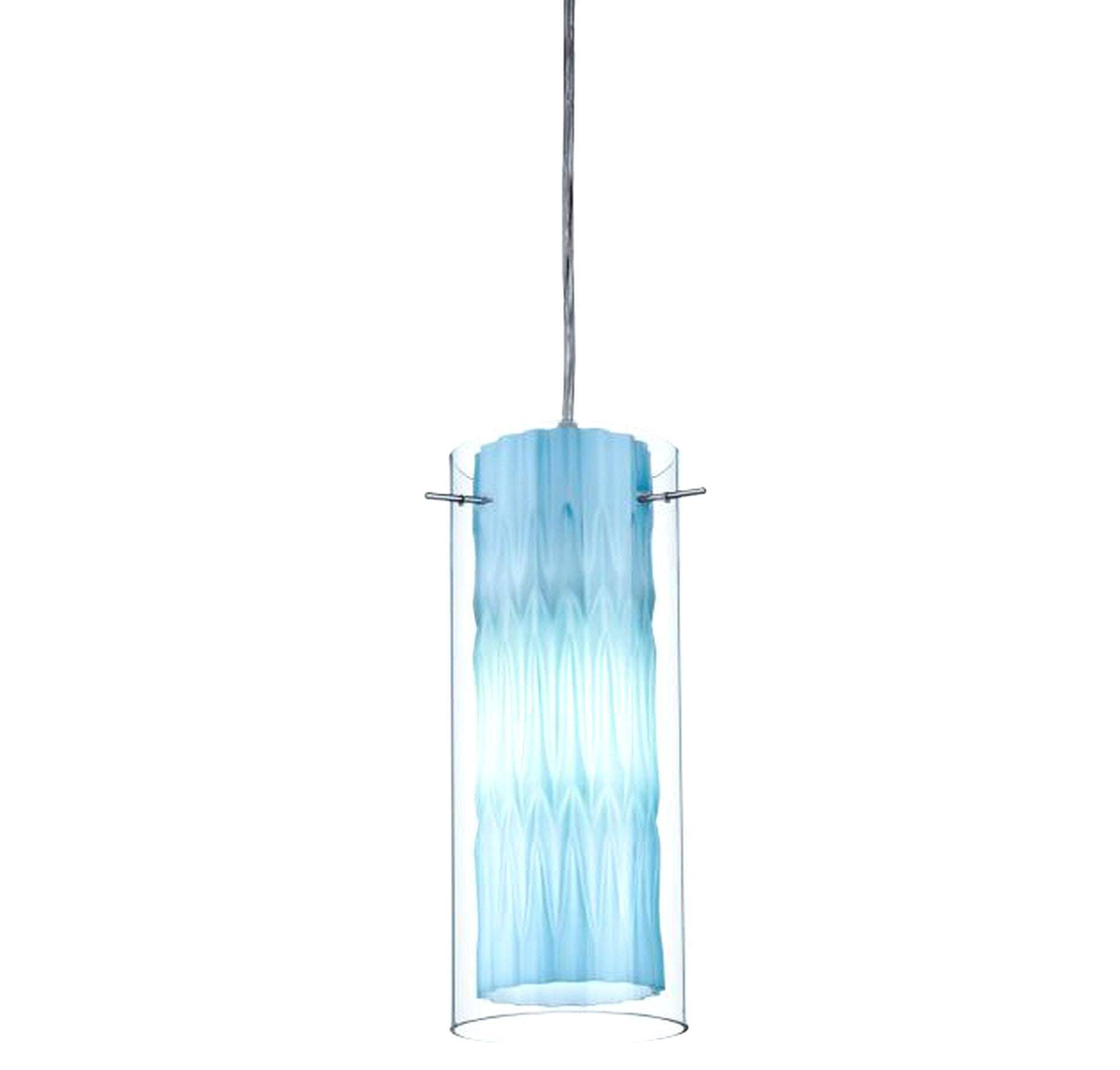 Cobalt Blue Pendant Light With Lighting Design Ideas Aqua Metal inside Blue Pendant Lights (Image 6 of 15)