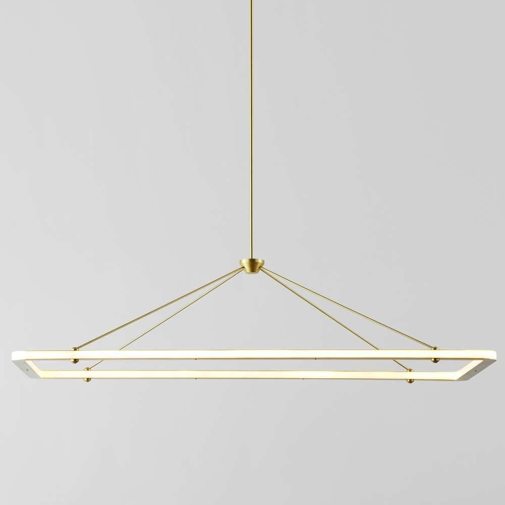 Collection In Rectangle Pendant Light In House Design Pictures Throughout Rectangular Pendant Lights (View 14 of 15)