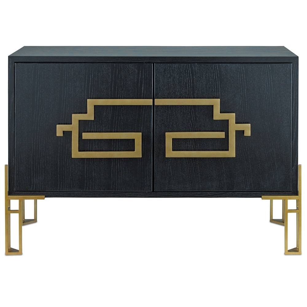 Contempo Black And Gold Sideboard – Cosmo Chic For Gold Sideboards (View 14 of 15)
